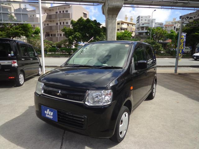 沖縄の中古車 三菱 eKワゴン 車両価格 17万円 リ済込 2008(平成20)年 12.9万km ブラック
