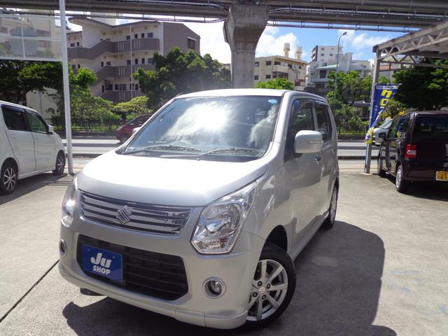 沖縄の中古車 スズキ ワゴンR 車両価格 39万円 リ済込 2012(平成24)年 9.2万km シルバー