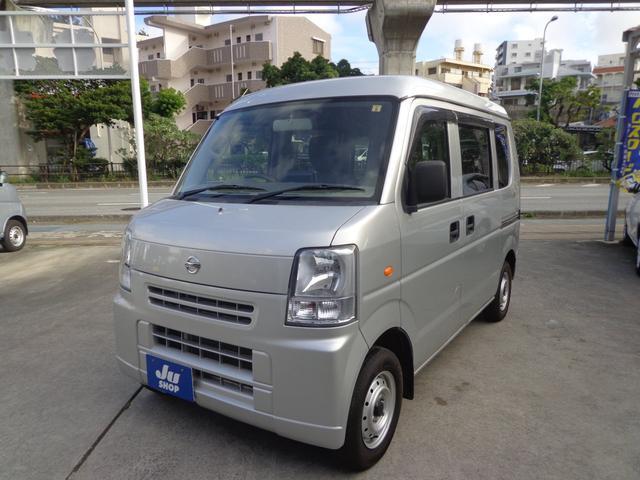 沖縄の中古車 日産 NV100クリッパーバン 車両価格 41万円 リ済込 2015(平成27)年 11.3万km シルバー