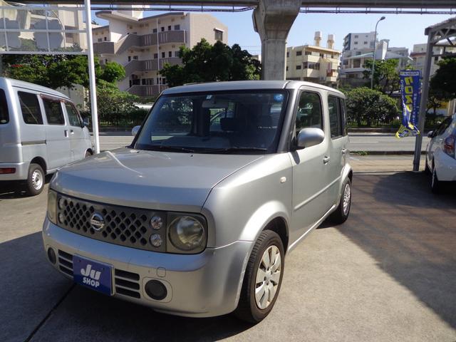 那覇市 ダイドー自動車 日産 キューブ  シルバー 20.5万km 2006(平成18)年