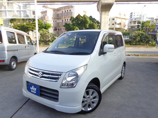 沖縄の中古車 スズキ ワゴンR 車両価格 31万円 リ済込 2009(平成21)年 10.2万km パールホワイト