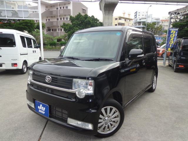 沖縄の中古車 ダイハツ ムーヴコンテ 車両価格 41万円 リ済込 2010(平成22)年 11.2万km ブラック