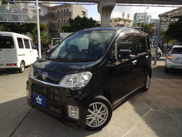 沖縄の中古車 ダイハツ タントエグゼ 車両価格 37万円 リ済込 2010(平成22)年 11.8万km ブラック