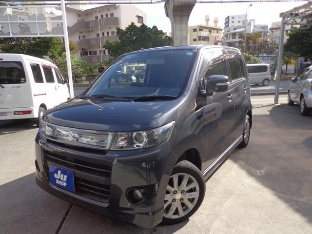 沖縄の中古車 スズキ ワゴンRスティングレー 車両価格 39万円 リ済込 2011(平成23)年 9.4万km グレー