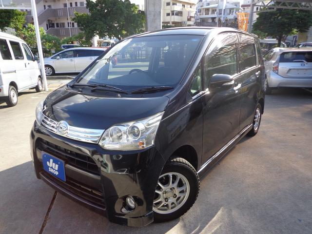 沖縄の中古車 ダイハツ ムーヴ 車両価格 42万円 リ済込 2011(平成23)年 10.9万km ブラック