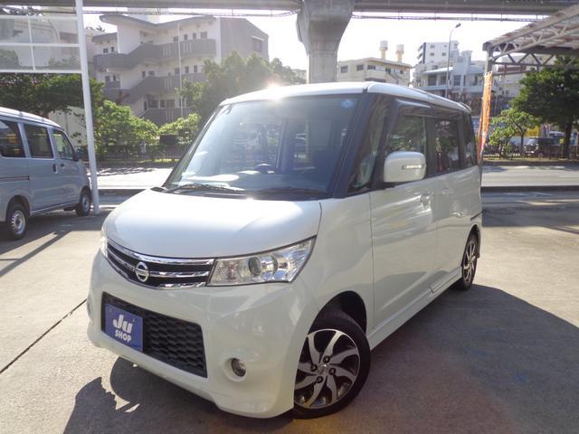 沖縄の中古車 日産 ルークス 車両価格 45万円 リ済込 2009(平成21)年 9.2万km パールホワイト