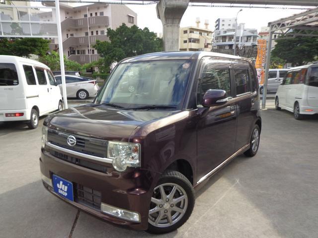 沖縄の中古車 ダイハツ ムーヴコンテ 車両価格 41万円 リ済込 2009(平成21)年 11.4万km ブラウン