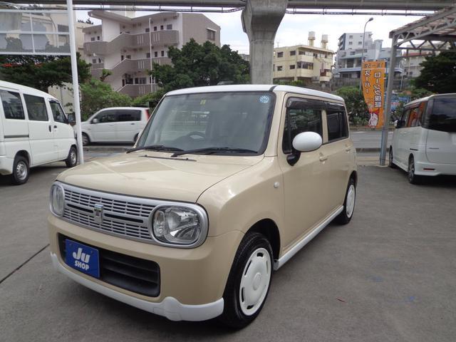 沖縄県の中古車ならアルトラパン リミテッド プッシュスタート・社外ナビ・TV付き