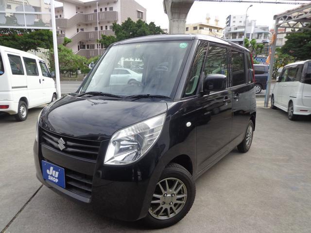 沖縄の中古車 スズキ パレット 車両価格 37万円 リ済込 2009(平成21)年 9.3万km ブラック