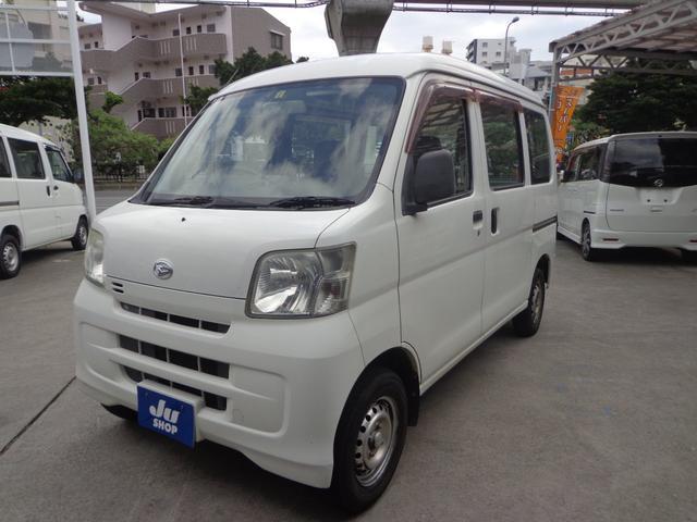 沖縄の中古車 ダイハツ ハイゼットカーゴ 車両価格 17万円 リ済込 2008(平成20)年 17.0万km ホワイト