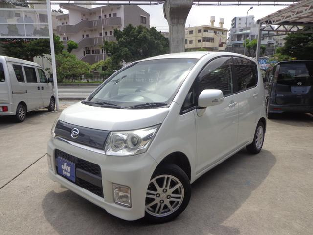 沖縄の中古車 ダイハツ ムーヴ 車両価格 36万円 リ済込 2009(平成21)年 10.5万km パールホワイト