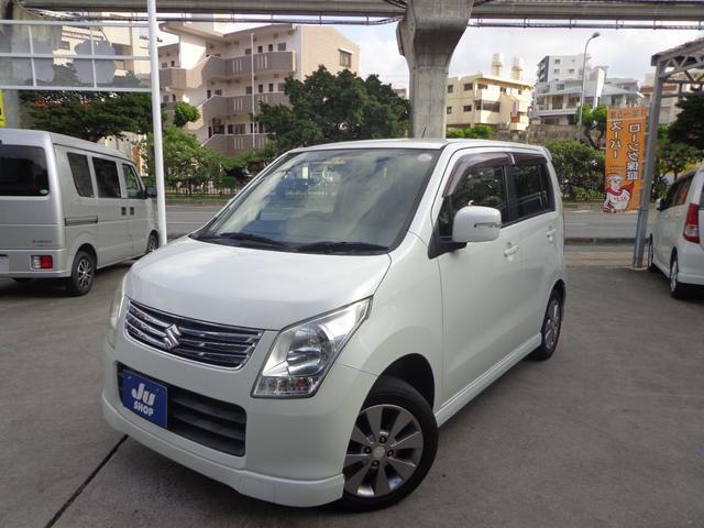 沖縄の中古車 スズキ ワゴンR 車両価格 37万円 リ済込 2011(平成23)年 10.3万km パールホワイト