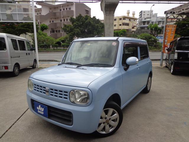 沖縄県那覇市の中古車ならアルトラパン X プッシュスタート・純正アルミ・電格ウィンカーミラー