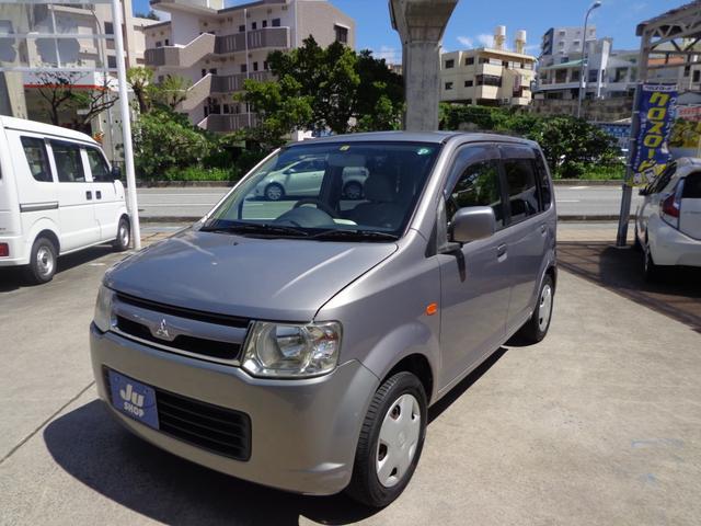 沖縄の中古車 三菱 eKワゴン 車両価格 19万円 リ済込 2007(平成19)年 14.9万km グレー