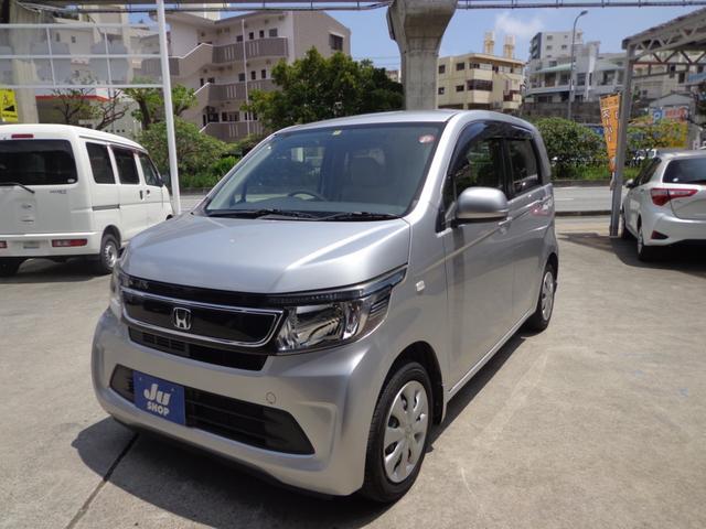 沖縄の中古車 ホンダ N-WGN 車両価格 51万円 リ済込 2014(平成26)年 11.3万km シルバー