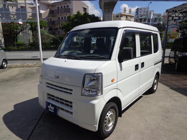 沖縄の中古車 日産 NV100クリッパーバン 車両価格 39万円 リ済込 2014(平成26)年 11.8万km ホワイト