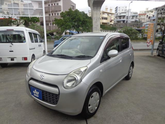 沖縄の中古車 スズキ アルト 車両価格 17万円 リ済込 2010(平成22)年 10.1万km シルバー
