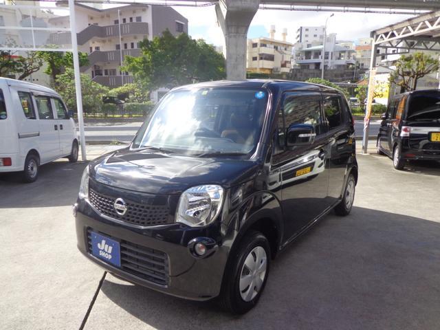 沖縄の中古車 日産 モコ 車両価格 37万円 リ済込 2011(平成23)年 10.8万km ブラック