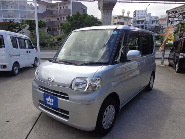 沖縄の中古車 ダイハツ タント 車両価格 33万円 リ済込 2009(平成21)年 9.6万km シルバー