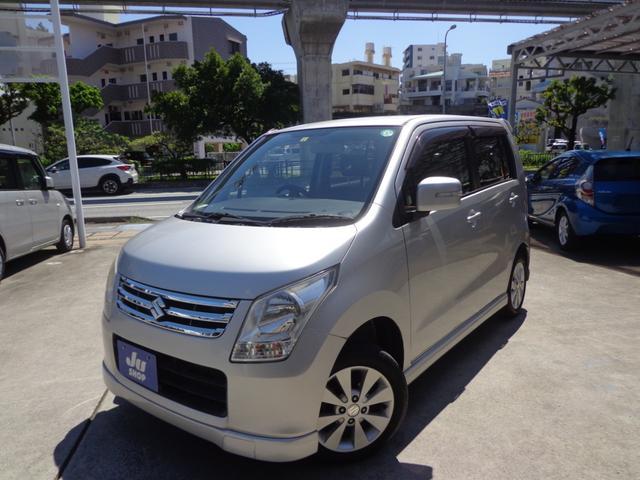 沖縄の中古車 スズキ ワゴンR 車両価格 30万円 リ済込 2010(平成22)年 11.8万km シルバー