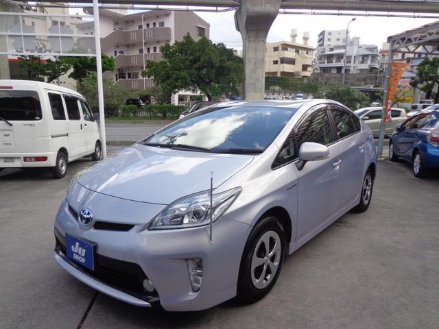 沖縄県の中古車ならプリウス S ハイブリッド・プッシュスタート・ナビ・TV・バックカメラ・ETC付き