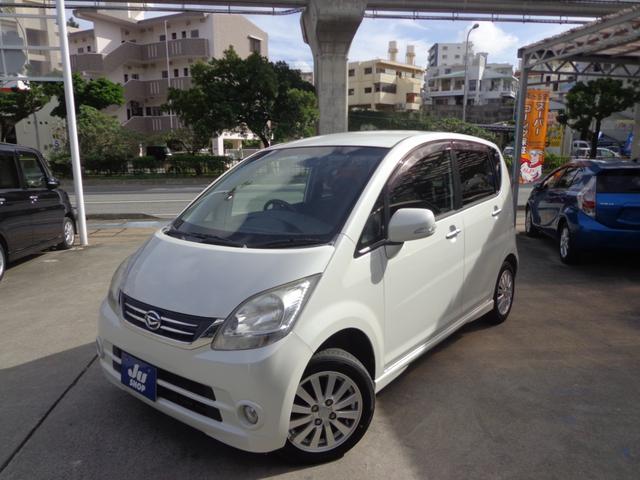 沖縄の中古車 ダイハツ ムーヴ 車両価格 33万円 リ済込 2009(平成21)年 9.9万km パールホワイト
