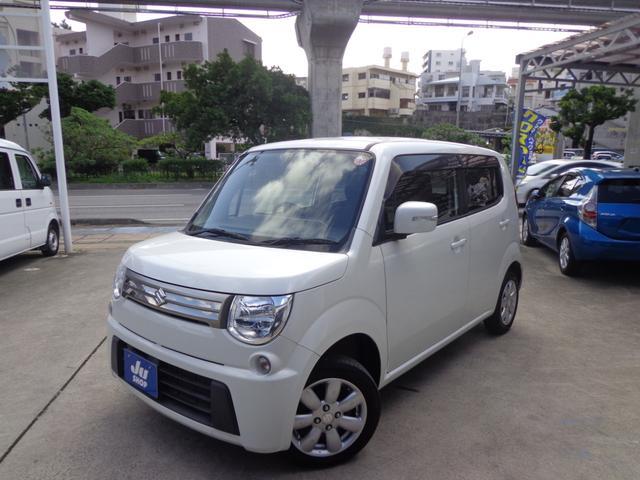 沖縄の中古車 スズキ MRワゴン 車両価格 37万円 リ済込 2012(平成24)年 11.4万km パールホワイト