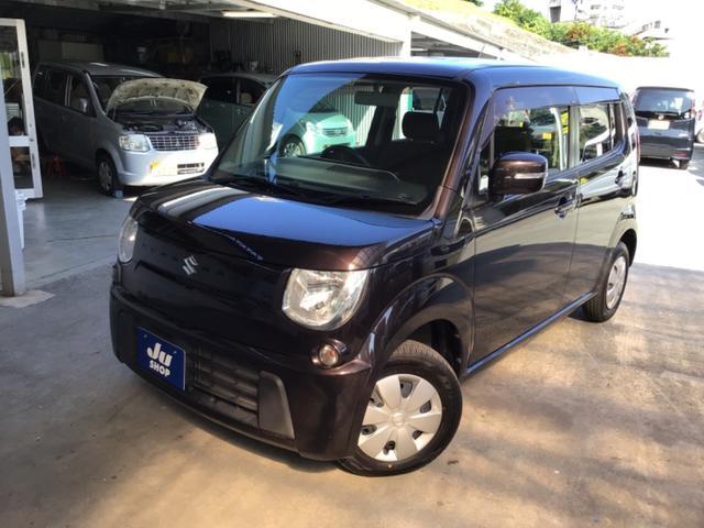 沖縄の中古車 スズキ MRワゴン 車両価格 34万円 リ済込 2011(平成23)年 11.5万km ブラックM