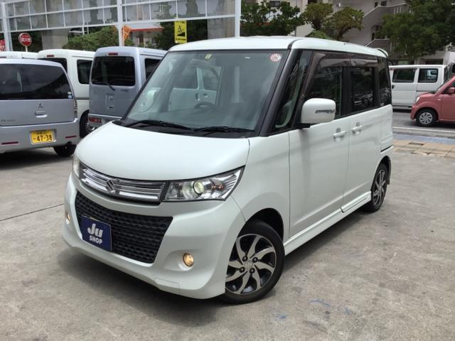 沖縄県那覇市の中古車ならパレットSW XS HDDナビ・フルセグTV・ETC・片側パワースライドドア・スマートキー・プッシュスタート