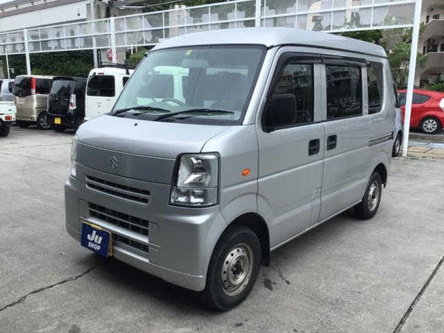 沖縄県うるま市の中古車ならエブリイ PC レンタアップ車・パワーウィンドウ・プライバシーガラス