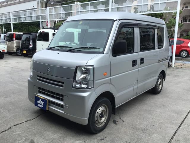 沖縄県の中古車ならエブリイ PC レンタアップ車・パワーウィンドウ・プライバシーガラス