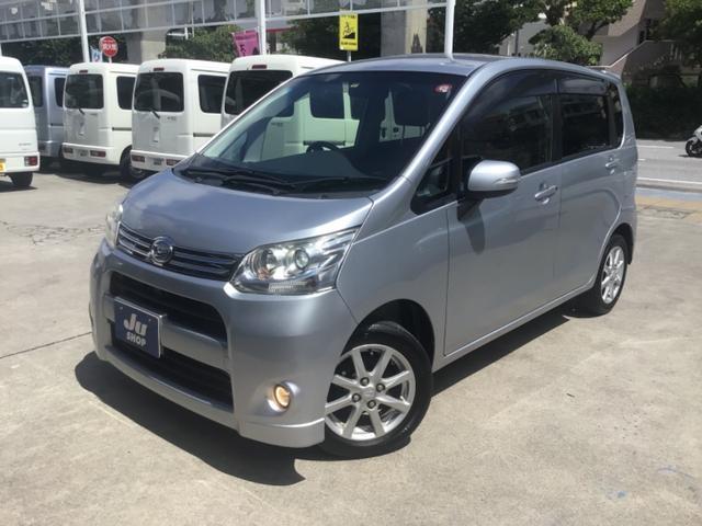 沖縄の中古車 ダイハツ ムーヴ 車両価格 34万円 リ済込 2012(平成24)年 11.0万km シルバーM