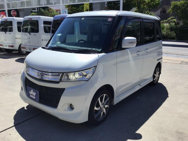 沖縄県那覇市の中古車ならパレットSW XS HDDナビ・フルセグTV・Bluetooth・片側パワースライドドア・スマートキー・プッシュスタート