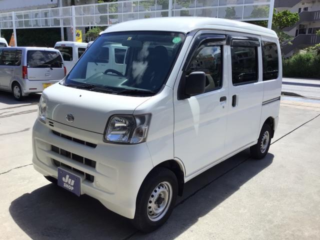 沖縄県那覇市の中古車ならハイゼットカーゴ DX SDナビ・CD・DVD・ETC・キーレス・パワーウィンドウ