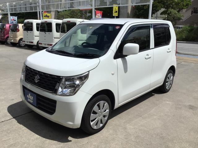 沖縄県那覇市の中古車ならワゴンR FA SDナビ・Bluetooth・AUX・ETC・ドライブレコーダー・キーレス