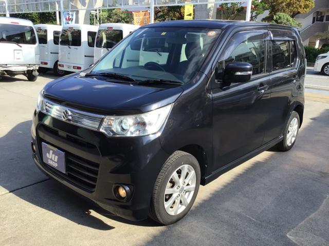 沖縄県那覇市の中古車ならワゴンRスティングレー X SDナビ・フルセグTV・CD・DVD・Bluetooth・ETC・アイドリングストップ・HID・スマートキー・プッシュスタート