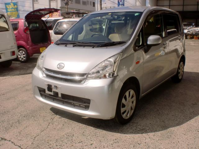 沖縄の中古車 ダイハツ ムーヴ 車両価格 25万円 リ済込 平成24年 14.8万km シルバーM