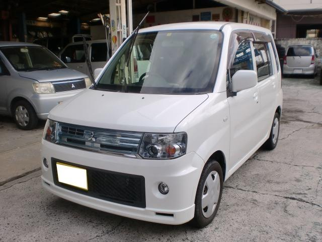 沖縄の中古車 三菱 トッポ 車両価格 28万円 リ済込 平成21年 10.2万km パールホワイト