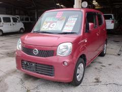 沖縄の中古車 日産 モコ 車両価格 39万円 リ済込 平成23年 11.4万K ピンクM