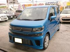 沖縄の中古車 スズキ ワゴンR 車両価格 125万円 リ済込 平成29年 0.4万K ブルーM