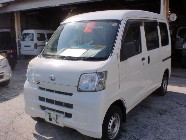 沖縄の中古車 ダイハツ ハイゼットカーゴ 車両価格 39万円 リ済込 平成25年 9.5万km ホワイト