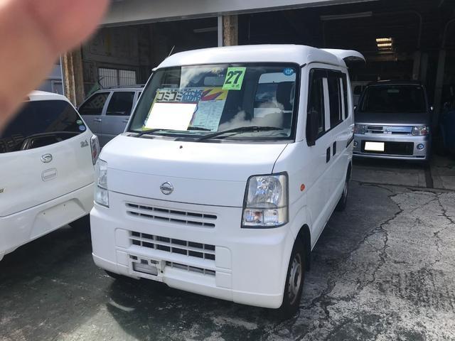 沖縄の中古車 日産 NV100クリッパーバン 車両価格 43万円 リ済込 2015(平成27)年 10.2万km ホワイト