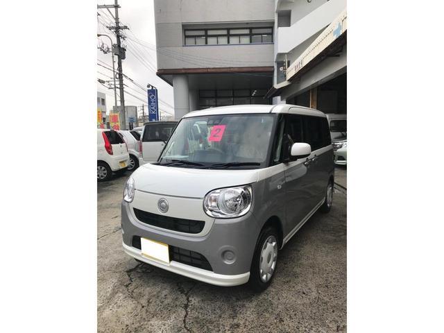 沖縄の中古車 ダイハツ ムーヴキャンバス 車両価格 145万円 リ済込 2020(令和2)年 6km ライトシルバーII