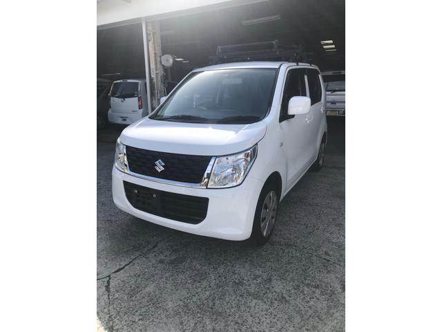 沖縄の中古車 スズキ ワゴンR 車両価格 39万円 リ済込 2016(平成28)年 9.4万km ホワイト