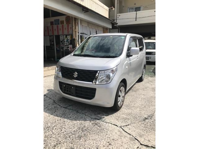 沖縄の中古車 スズキ ワゴンR 車両価格 45万円 リ済込 2016(平成28)年 8.9万km シルバーM