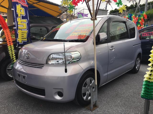 沖縄の中古車 トヨタ ポルテ 車両価格 55万円 リ済込 2012(平成24)年 3.7万km ライトパープル