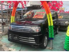 沖縄の中古車 日産 オッティ 車両価格 34万円 リ済込 平成22年 13.5万K ブラック