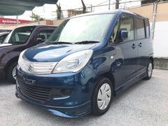 沖縄の中古車 スズキ ソリオ 車両価格 65万円 リ済込 平成25年 6.5万K ダークブルー