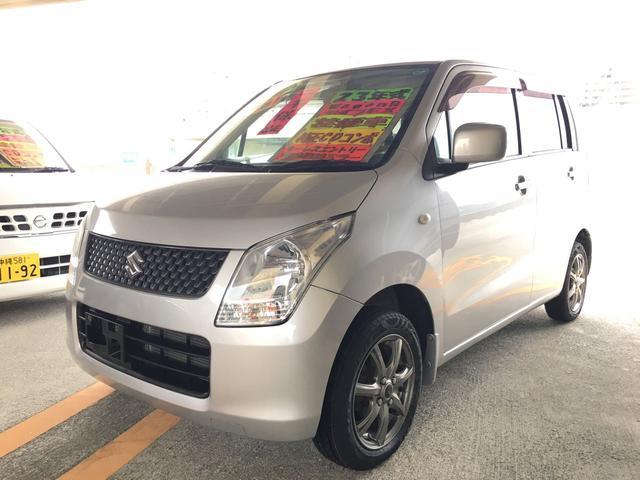 沖縄の中古車 スズキ ワゴンR 車両価格 59万円 リ済込 平成23年 6.6万km シルバー