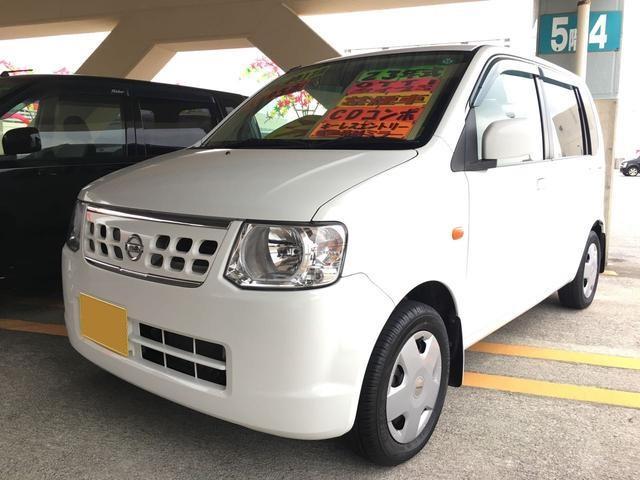 沖縄の中古車 日産 オッティ 車両価格 39万円 リ済込 平成23年 12.5万km ホワイト